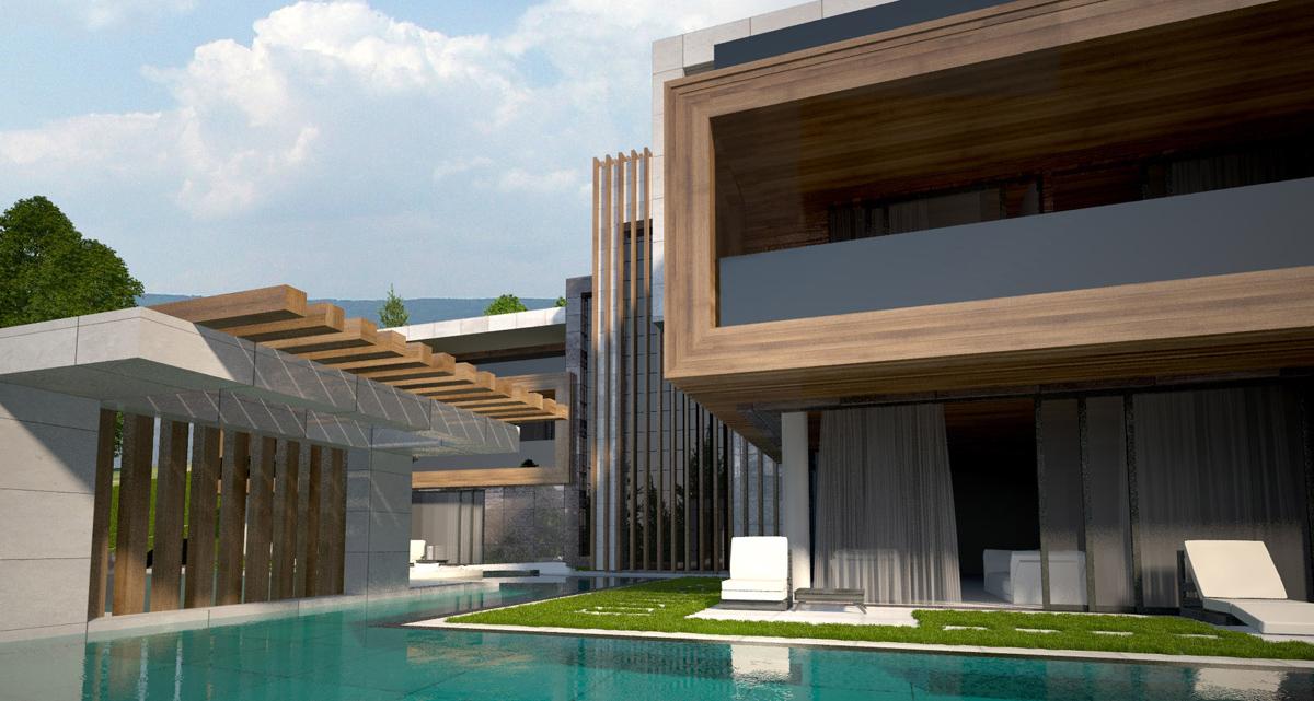 Архитектурно студио Арт Ню Вижън е проектант на къща в Панчарево
