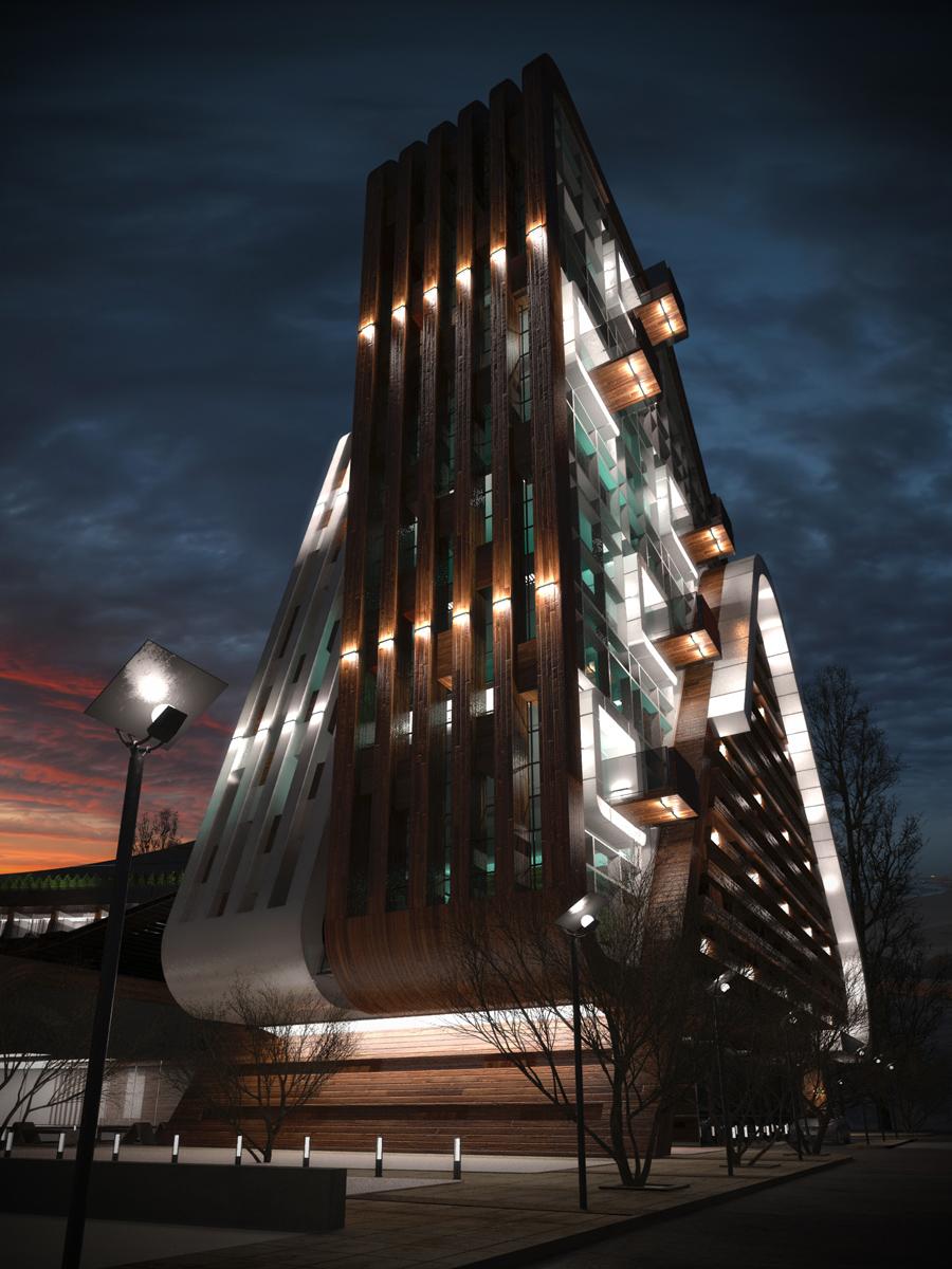 """Архитектурно студио Арт Ню Вижън е проектант на многофункционален комплекс """"Черни Връх"""" 1"""