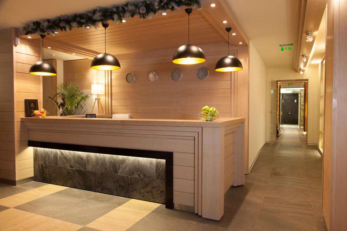 Рецепция и Лоби бар, Аmira Apartments & SPA, гр. Банско 9
