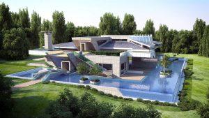 Проект за Еднофамилна къща, с. Лъка 3