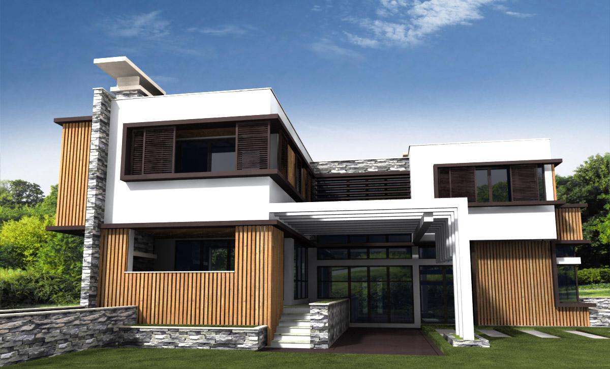 Проект за Еднофамилна къща, с. Лъка 16