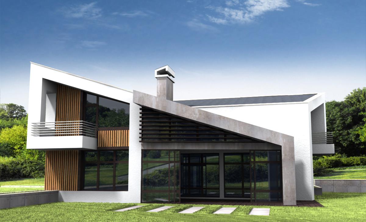 Проект за Еднофамилна къща, с. Лъка 9