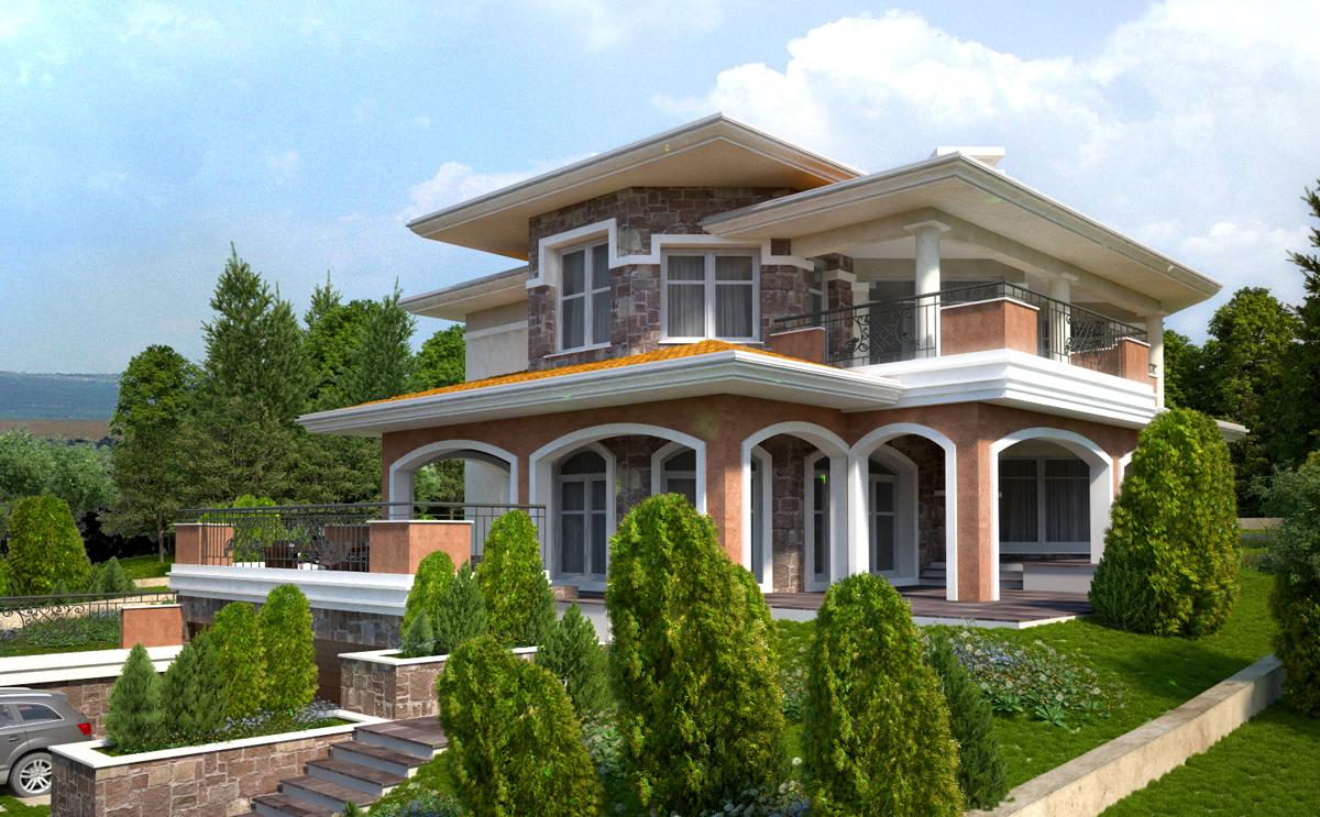 Проект на еднофамилна къща 8