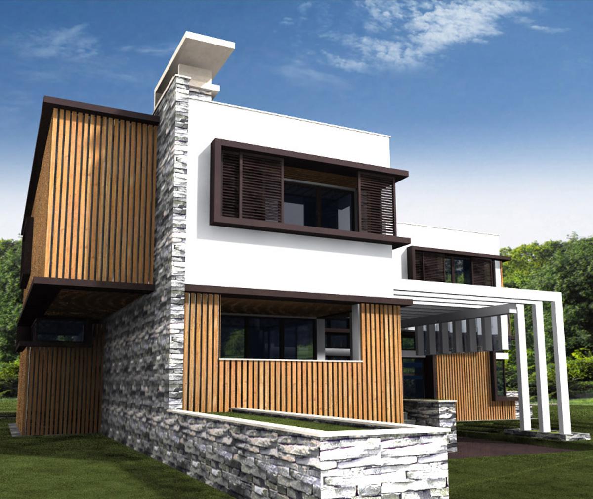 Проект за Еднофамилна къща, с. Лъка 15
