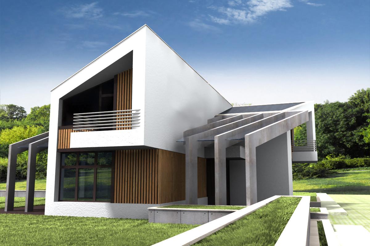 Проект за Еднофамилна къща, с. Лъка 8