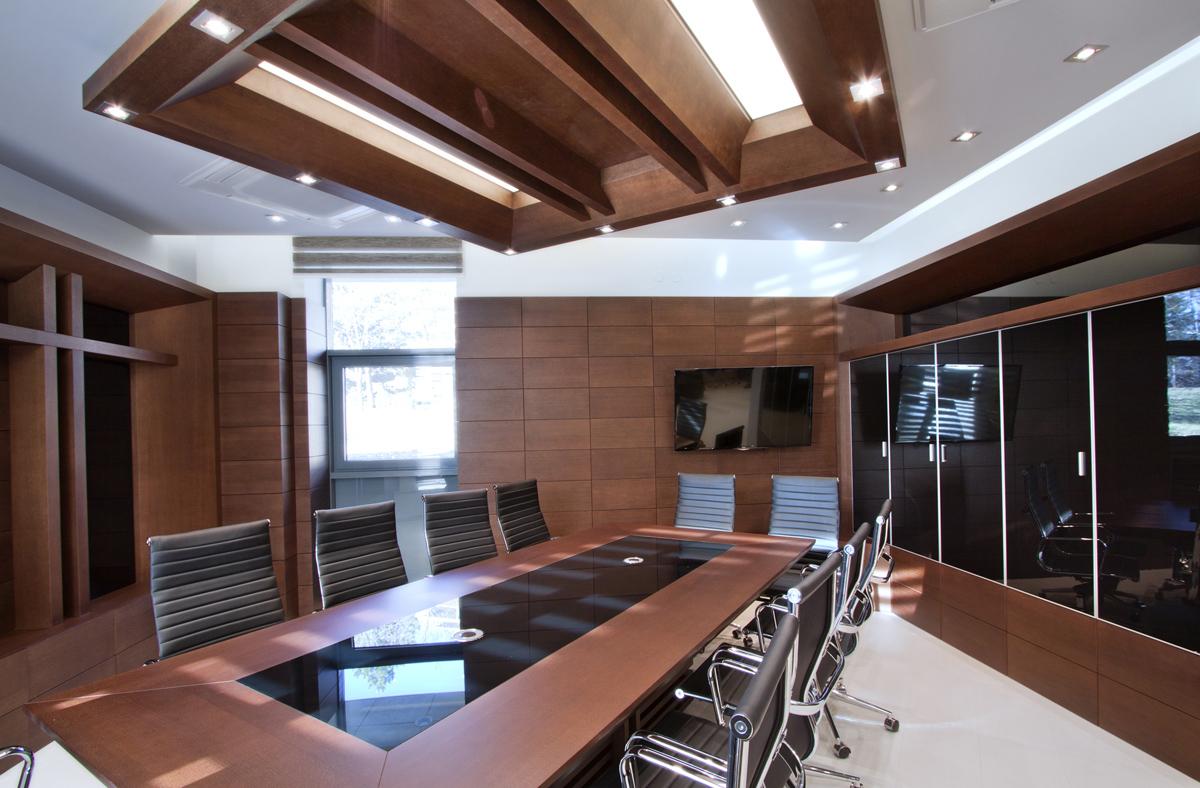 Интериор на Заседателна зала 12