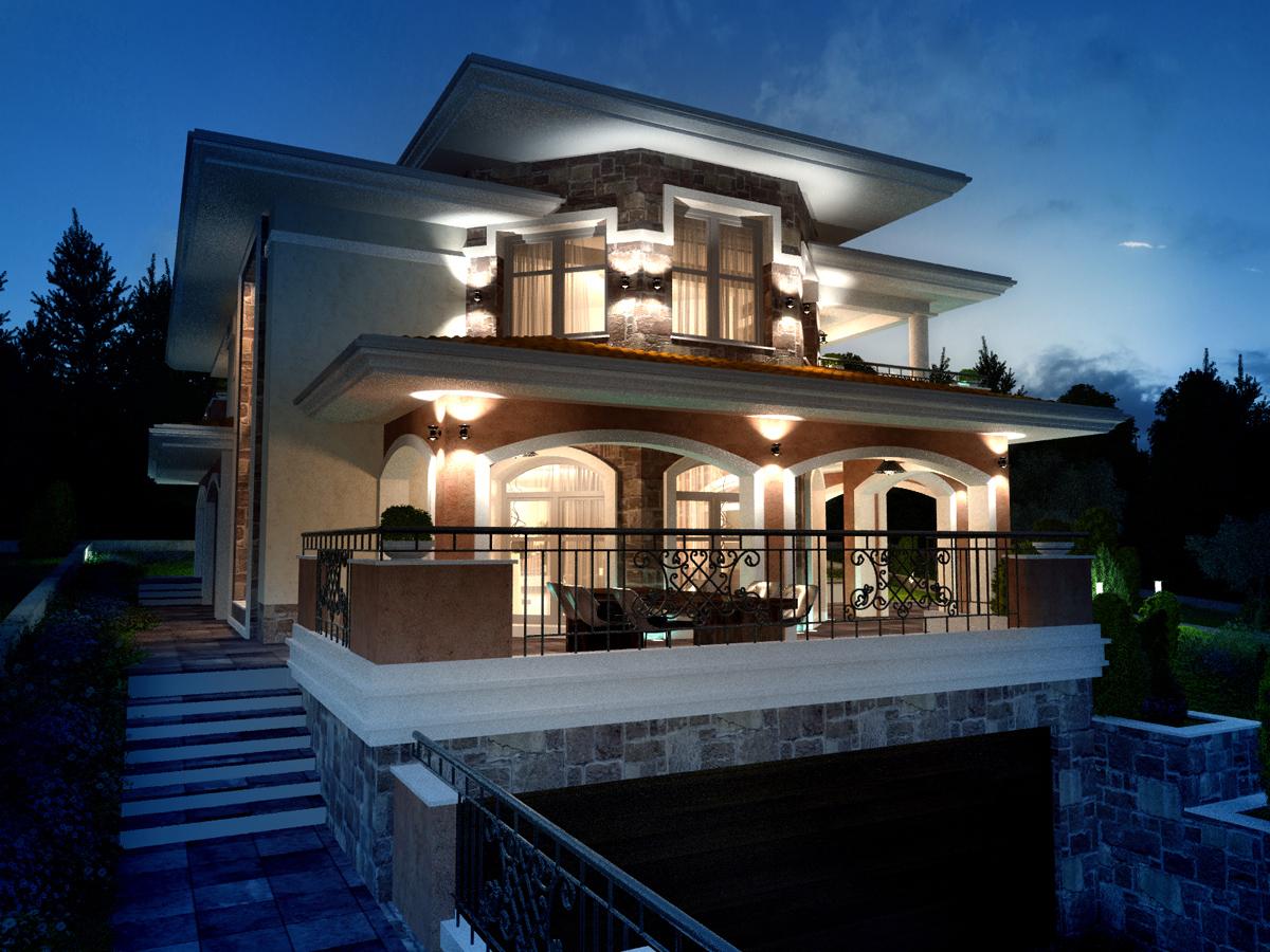 Проект на еднофамилна къща 7