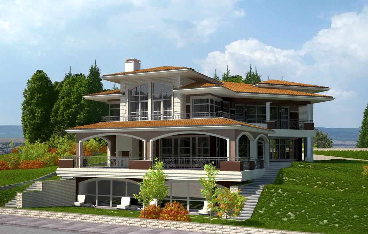 Еднофамилна жилищна сграда, гр. Варна 10