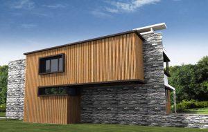Проект за Еднофамилна къща, с. Лъка 14