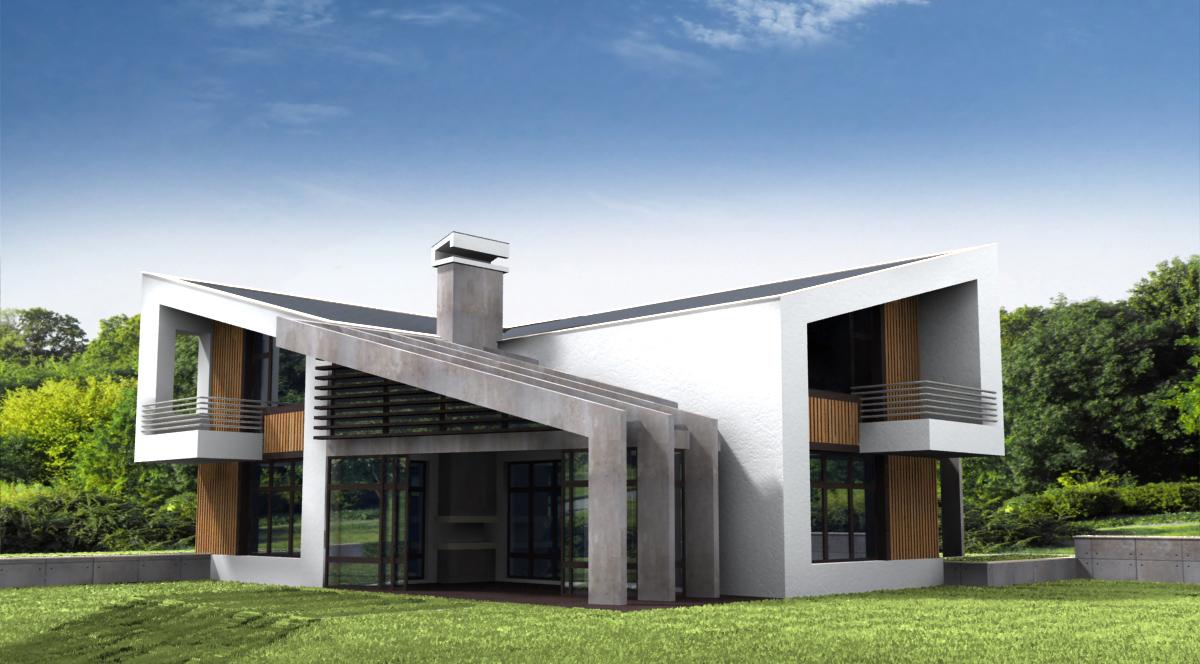 Проект за Еднофамилна къща, с. Лъка 7