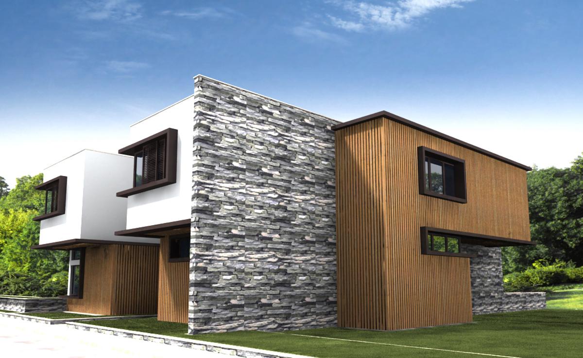 Проект за Еднофамилна къща, с. Лъка 13