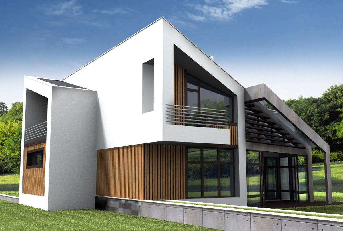 Проект за Еднофамилна къща, с. Лъка 6