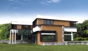 Проект за Еднофамилна къща, с. Лъка 12