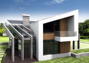 Проект за Еднофамилна къща, с. Лъка 5