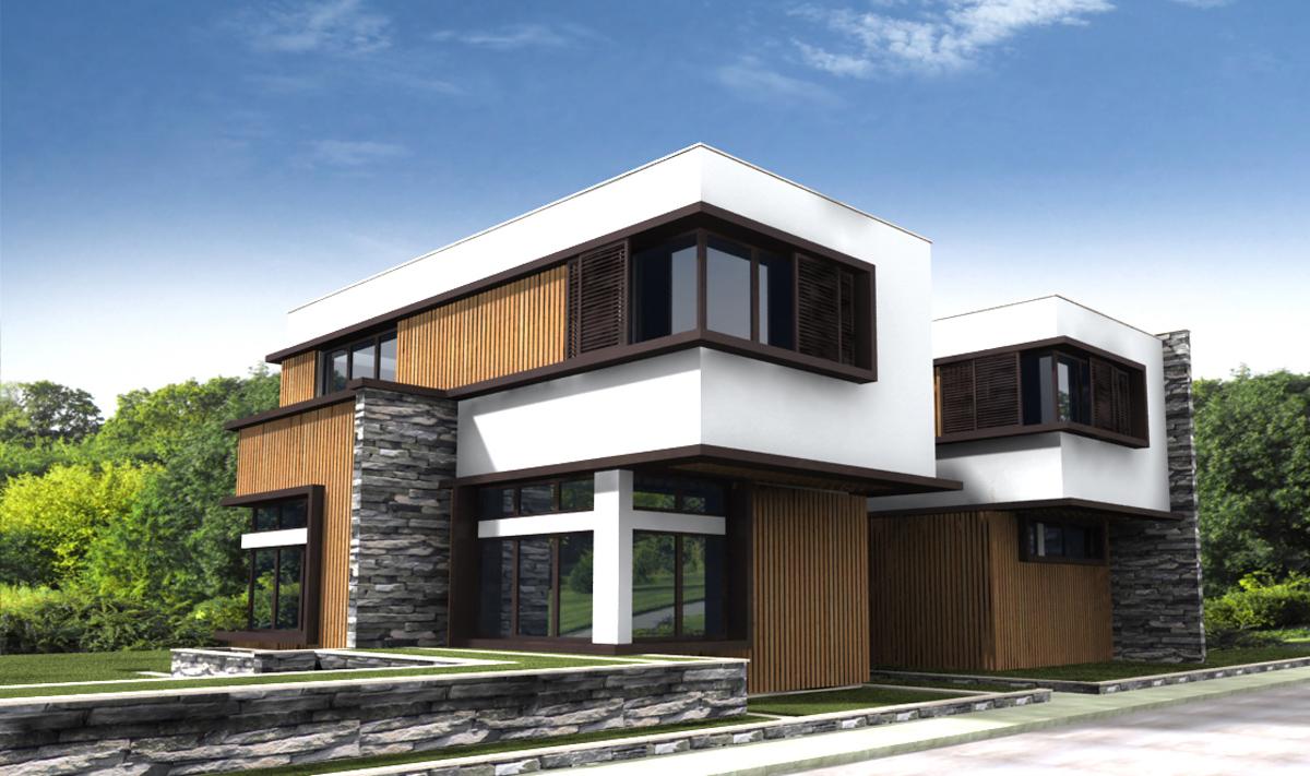 Проект за Еднофамилна къща, с. Лъка 11