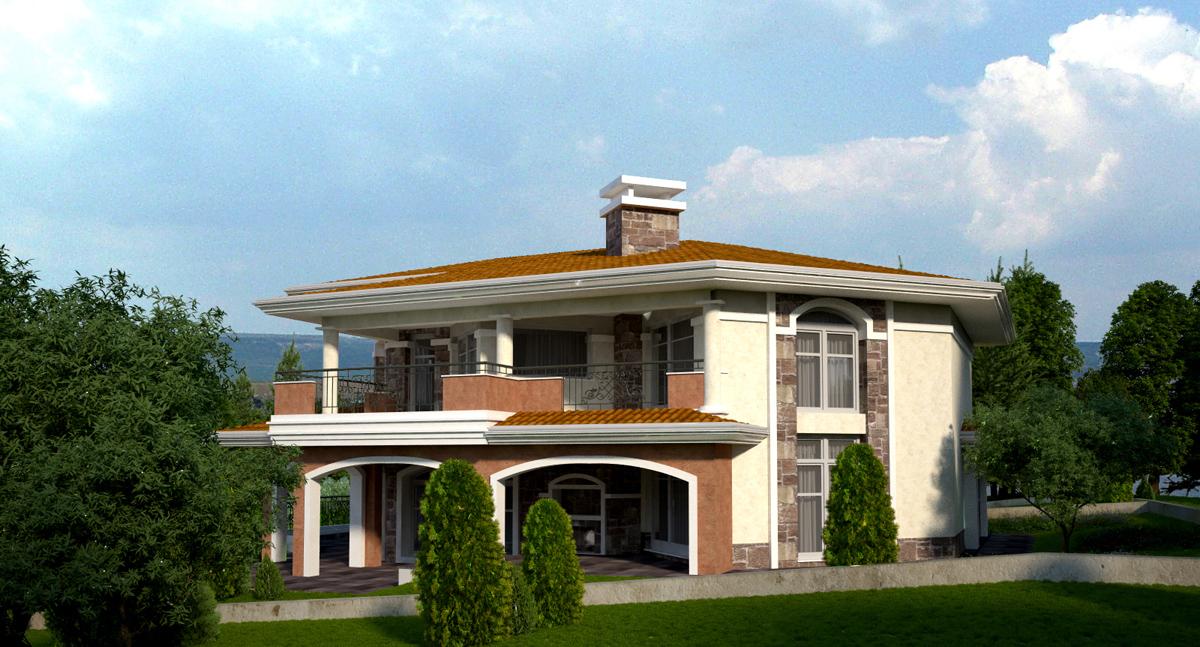 Проект на еднофамилна къща 4