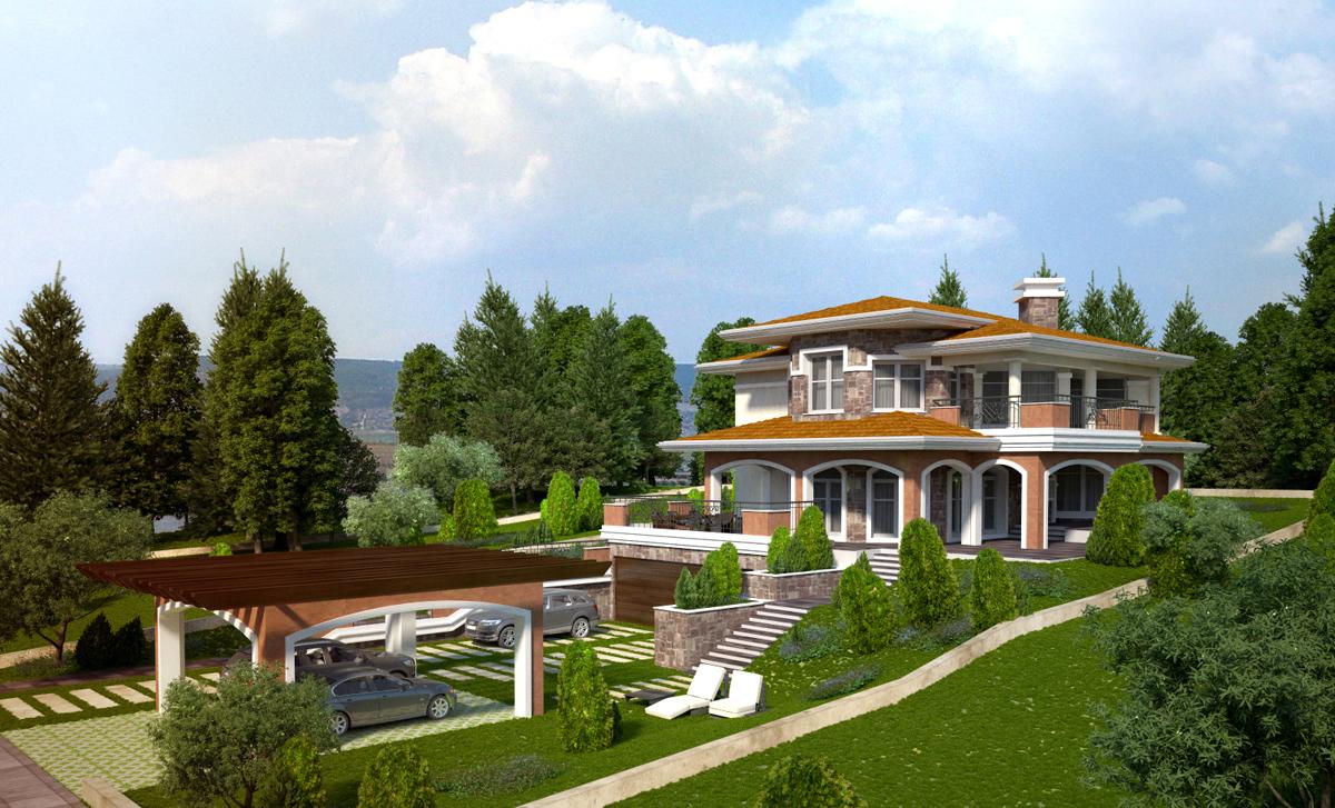 Проект на еднофамилна къща 3
