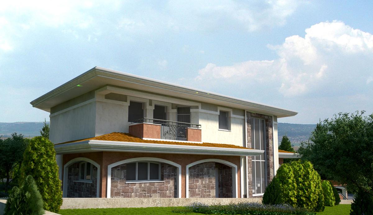 Проект на еднофамилна къща 2