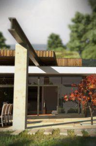 Къща с възможност за трансформации на стръмен терен 3