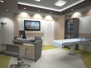"""Интериор на Медицински център """"ОксиЛайф"""" 17"""