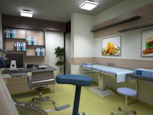 """Интериор на Медицински център """"ОксиЛайф"""" 16"""