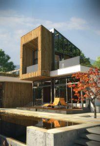 Къща с възможност за трансформации на стръмен терен 11