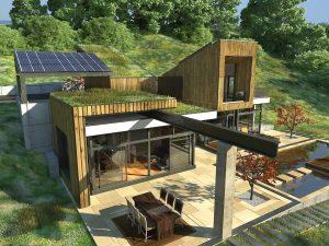 Къща с възможност за трансформации на стръмен терен 9