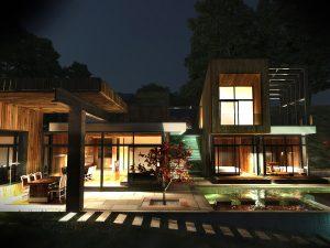 Къща с възможност за трансформации на стръмен терен 8