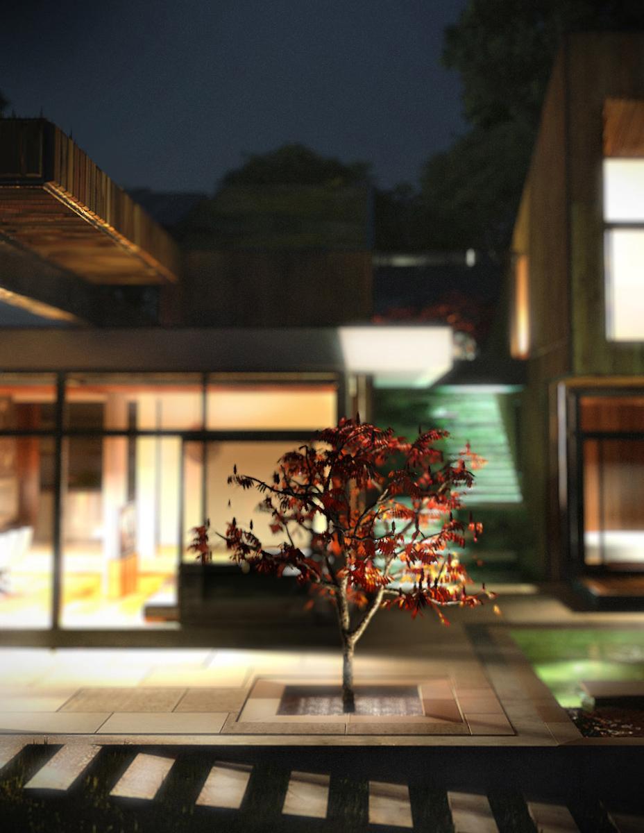 Къща с възможност за трансформации на стръмен терен 7