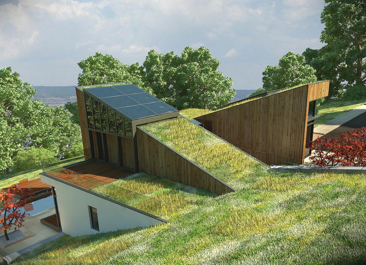 Къща с възможност за трансформации на стръмен терен 6