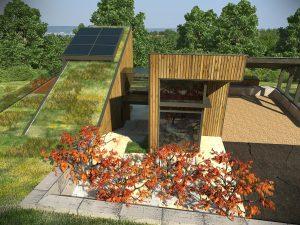 Къща с възможност за трансформации на стръмен терен 5