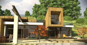 Къща с възможност за трансформации на стръмен терен 4