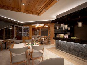 Интериор Ресторант, Аmira Apartments & SPA, гр. Банско 7