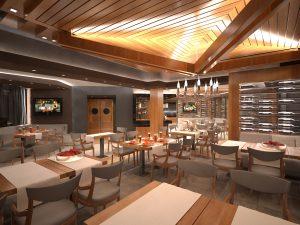 Интериор Ресторант, Аmira Apartments & SPA, гр. Банско 6