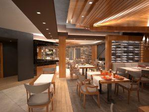 Интериор Ресторант, Аmira Apartments & SPA, гр. Банско 5