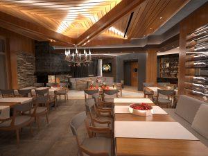 Интериор Ресторант, Аmira Apartments & SPA, гр. Банско 4