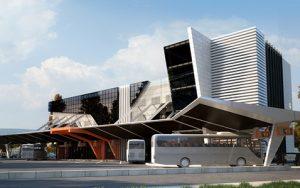 Концептуален проект на Национална Автогара 1