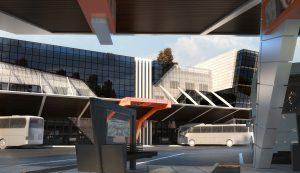 Концептуален проект на Национална Автогара 5