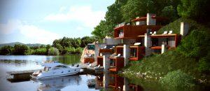 Проект Къща на язовира 11