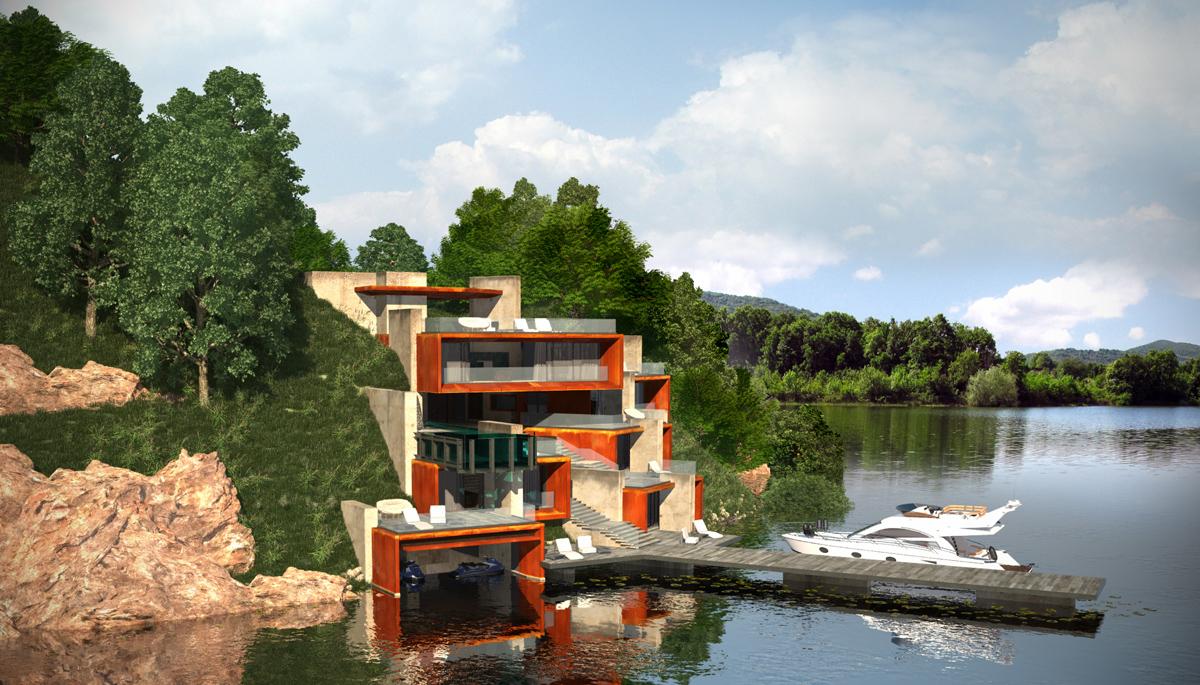 Проект Къща на язовира 2