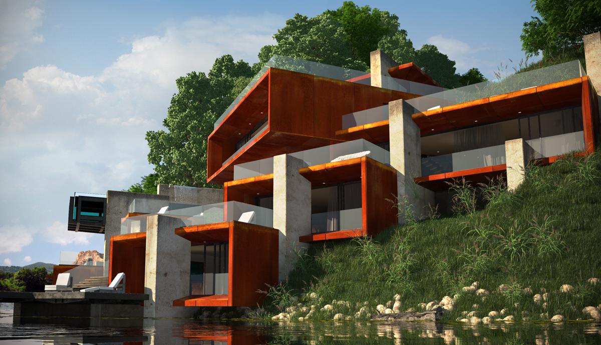 Проект Къща на язовира 10