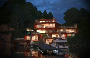 Проект Къща на язовира 9