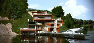 Проект Къща на язовира 8
