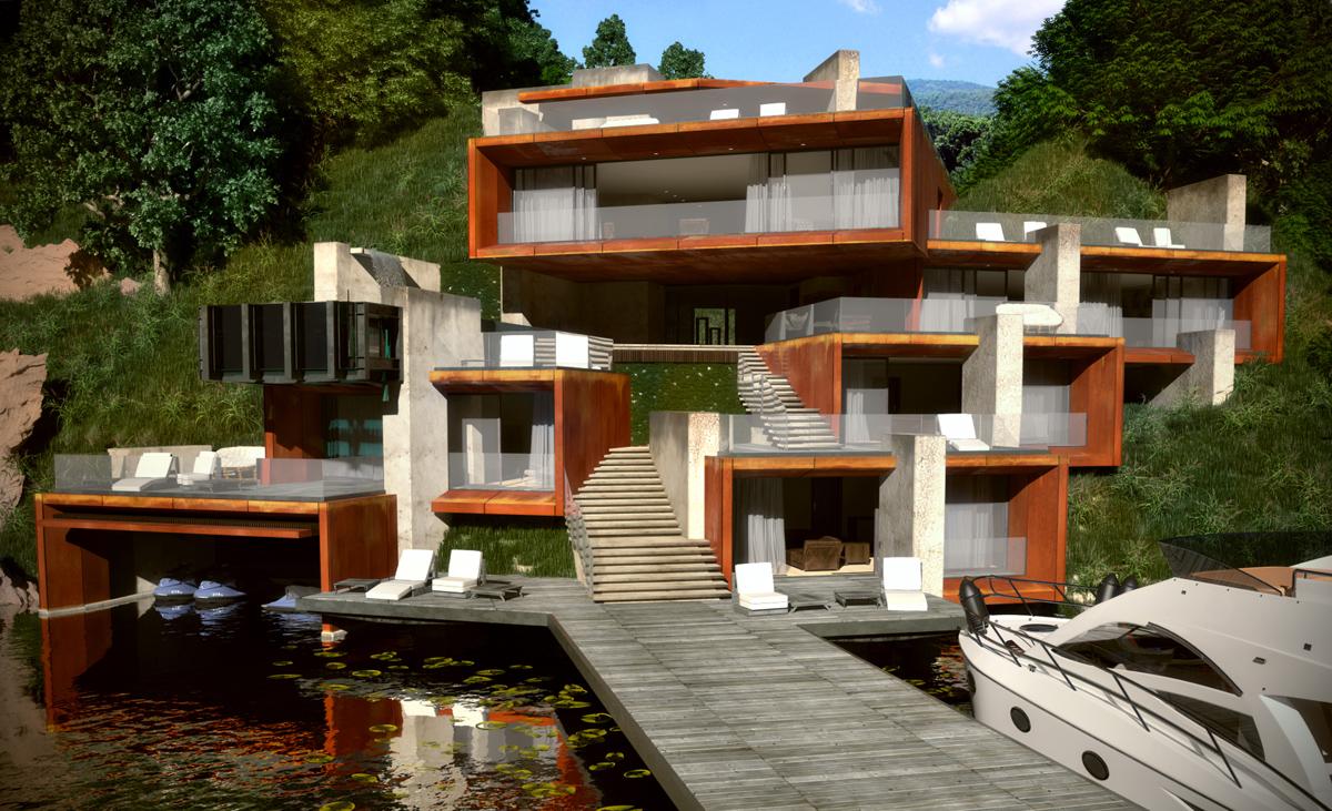 Проект Къща на язовира 7