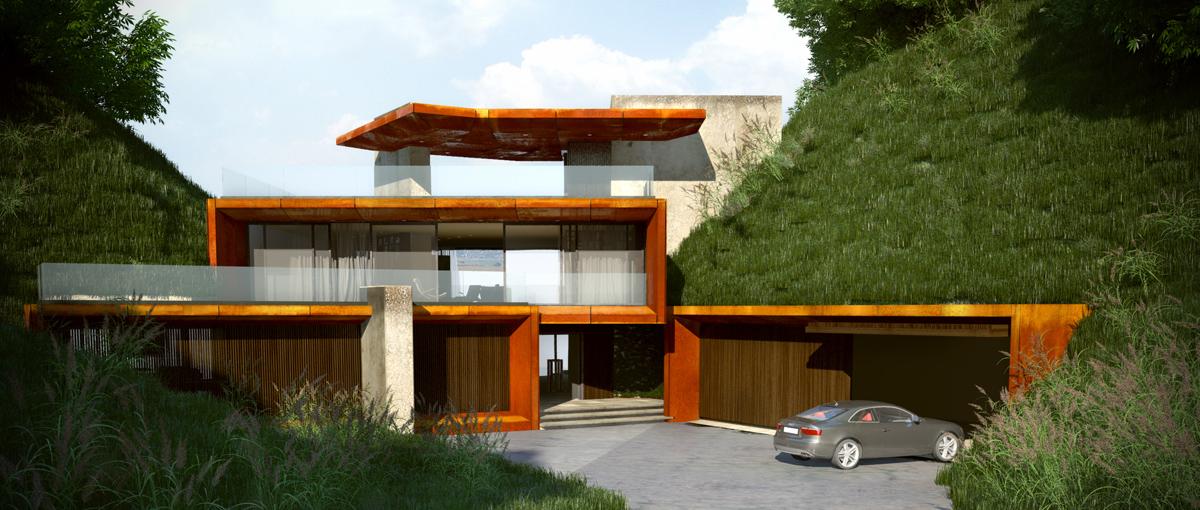 Проект Къща на язовира 6