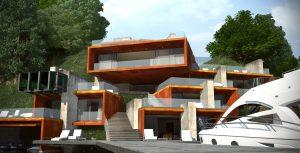 Проект Къща на язовира 5