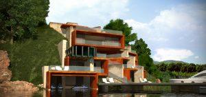 Проект Къща на язовира 3