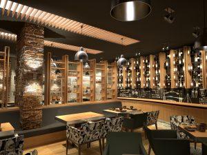Интериор на Ресторант Дон Домат, Бургас 4