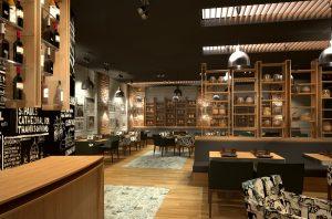 Интериор на Ресторант Дон Домат, Бургас 3