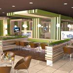 Интериор Food Court, Бургас 1